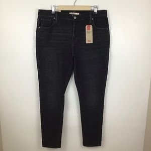 Levi's 721 High Rise Skinny Stretch Jeans